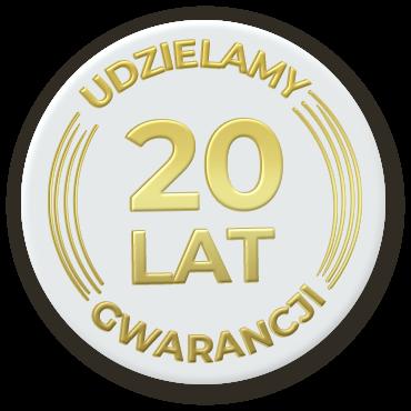 20 lat gwarancji